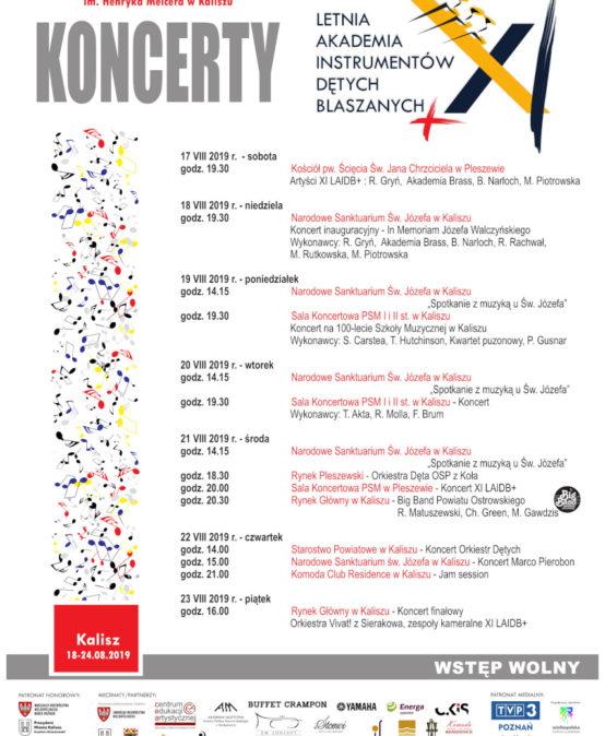 (Polski) Koncerty XI LAIDB+ Kalisz 2019